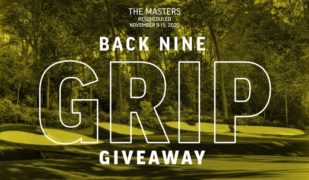 The Masters Back 9 Giveaway Results