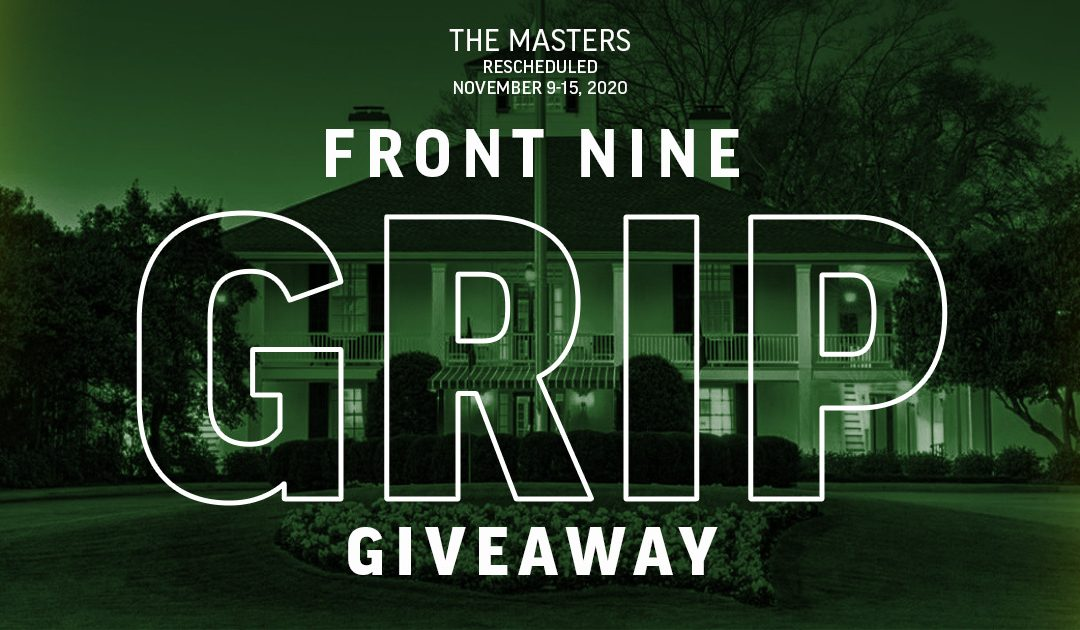 The Masters Putter Grip Giveaway – Winners