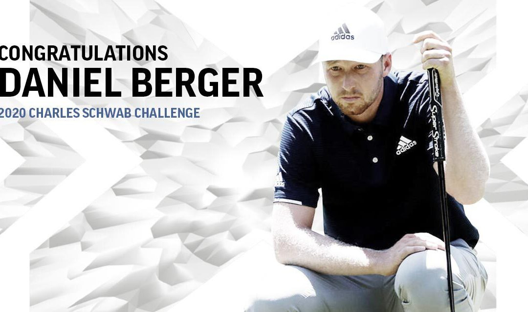 Daniel Berger earns PGA Tour win with SuperStroke at Charles Schwab Classic